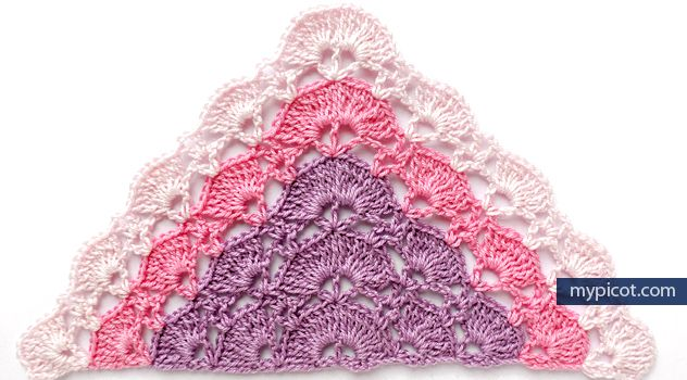 Mypicot Free Crochet Patterns Simple Openwork Pattern For
