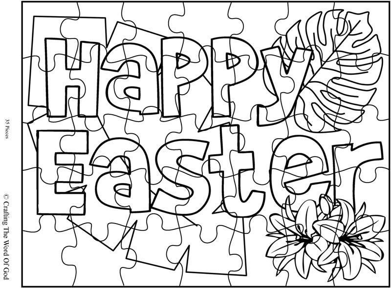easter coloring pages activities - photo#7