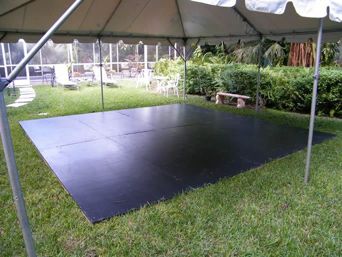 Plywood Outdoor Dance Floors