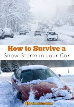 Winter Car Survival Kits - A Guide To Vehicle Emergency Preparation #wintersurvivalsupplies