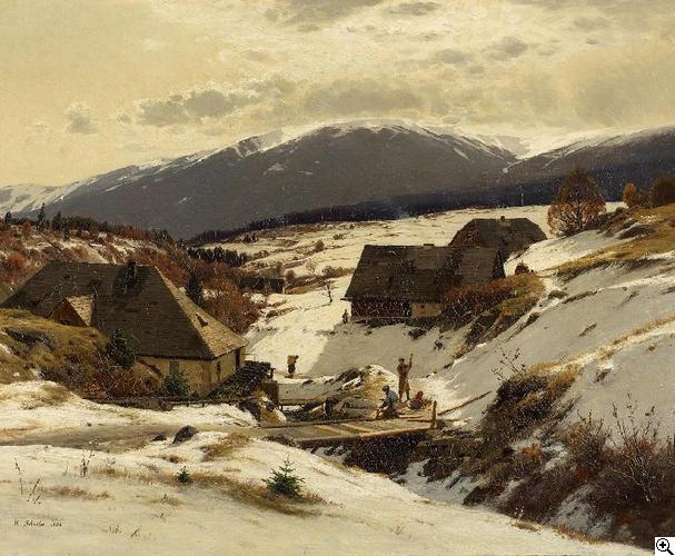 Rudolf Schuster Winter im Riesengebirge (mit Bildern