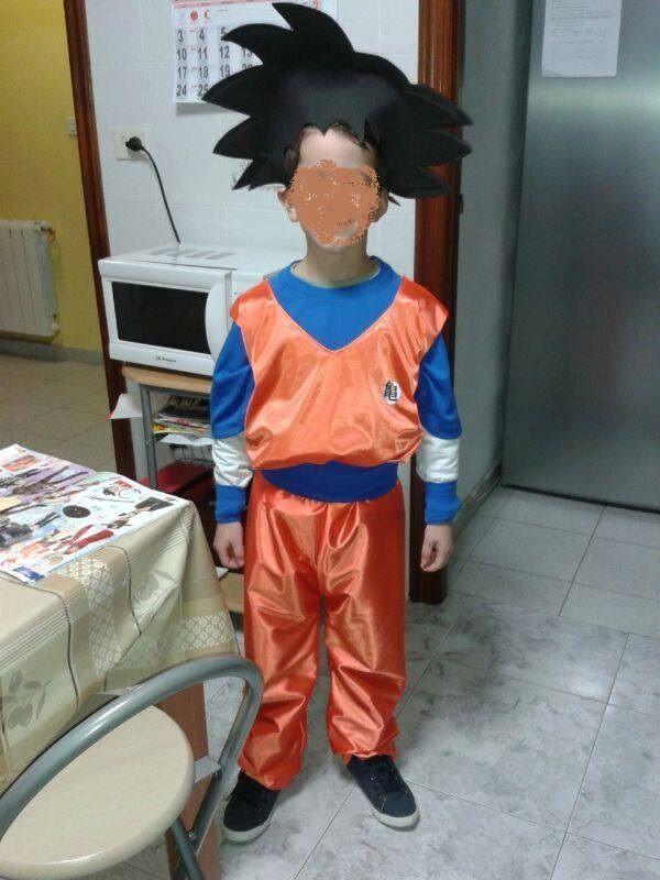 Goku Peluca También Hecha A Mano Peluca De Goku Disfraces Pastel De Dragon Ball