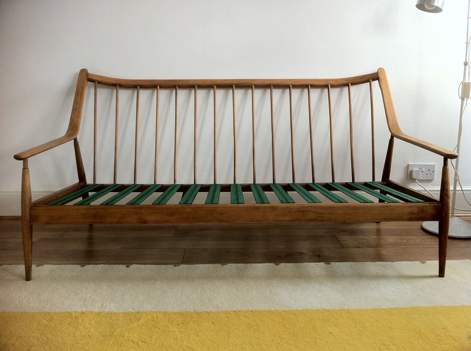 Mid Century Modern Vintage Retro Scandinavian Wooden Frame