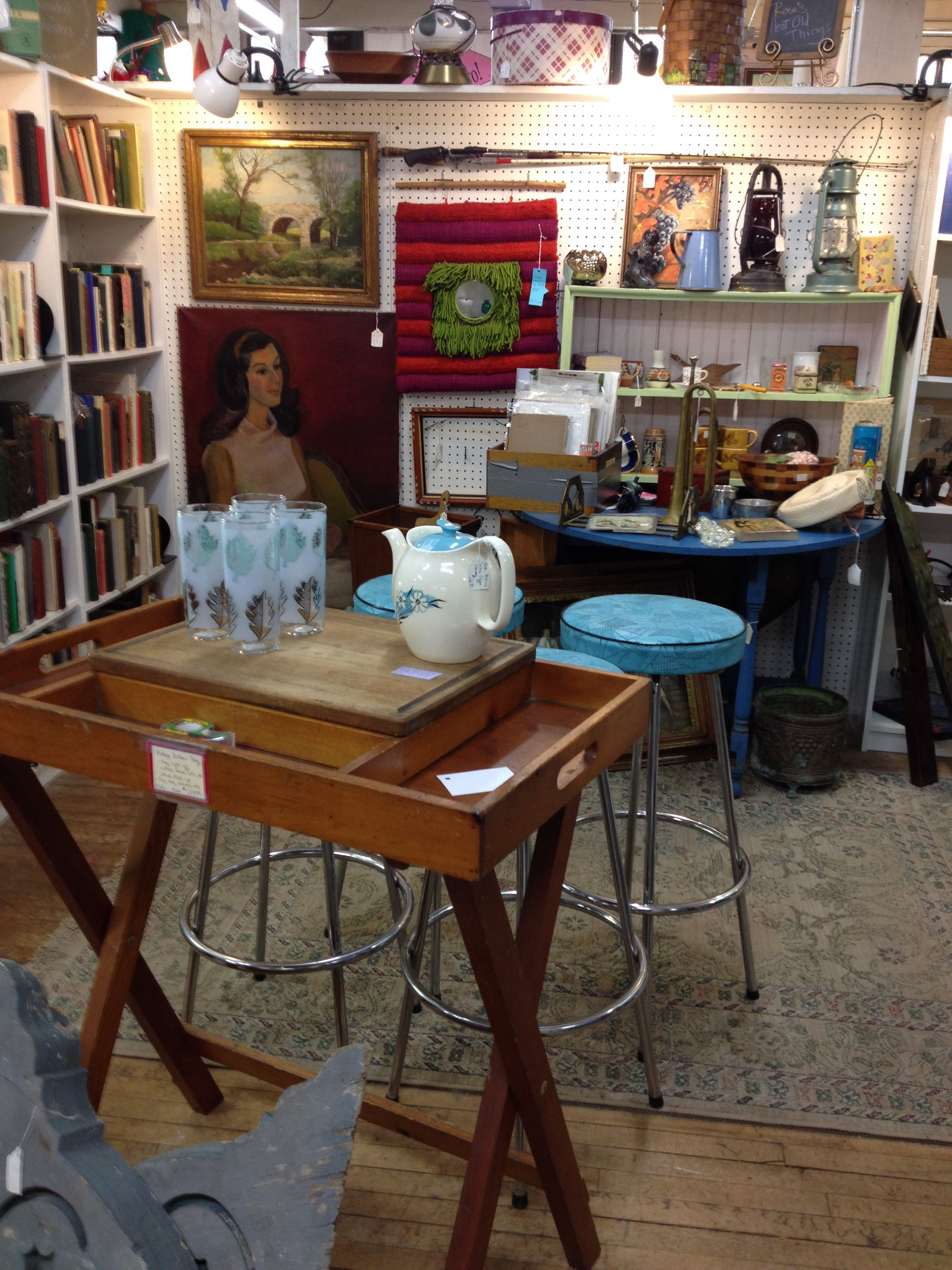 My Booth In A Local Antique Shop Antiques On Pierce Milwaukee Wi