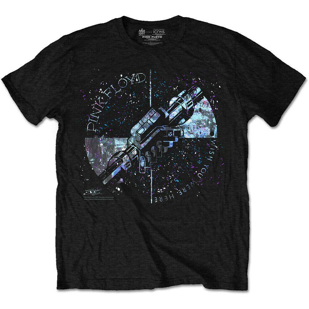 PINK FLOYD Machine Greeting Blue Mens T Shirt Unisex Band Merch S M L XL XXL