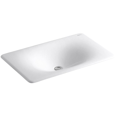 Kohler Iron Tones 25 Dual Mount Sink White Drop In Bathroom Sinks Undermount Bathroom Sink Sink