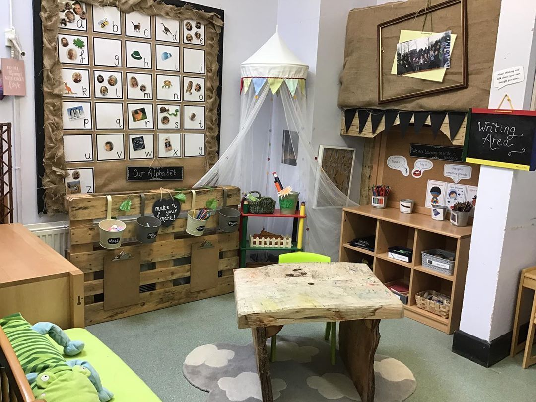 "Joy and Wonder on Instagram: ""Our writing area. Really tried to make this area welcoming and exciting, and give children exciting things to write with and on (giant…"" #curiosityapproacheyfs"