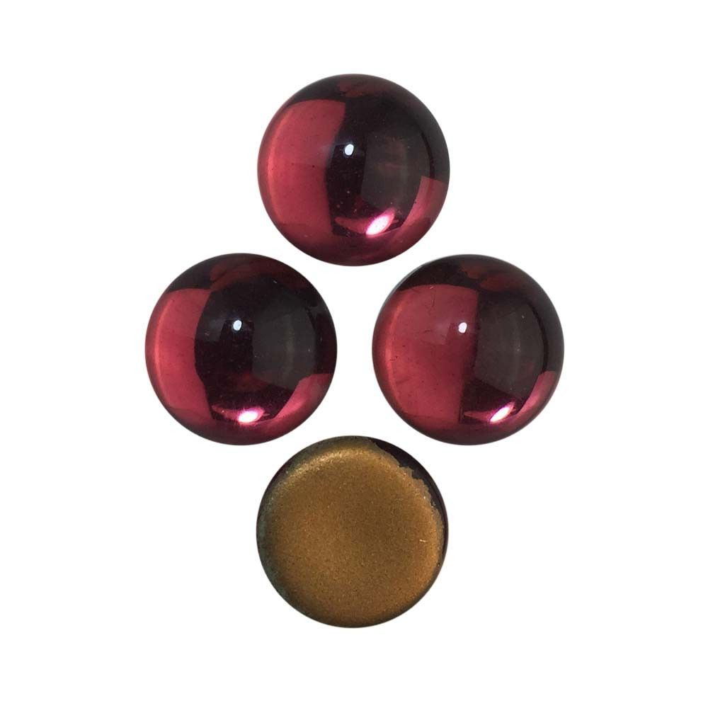 Glass Foiled Cabochons 13mm