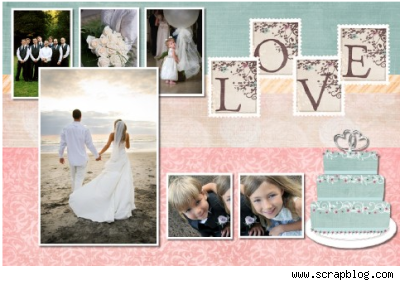 88 Wedding Photo Scrapbook