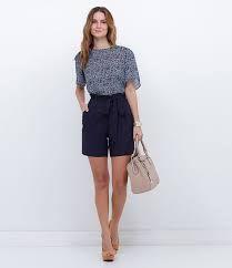 32ce283769c32a Resultado de imagen para bermudas femininas de tecido Tendências Primavera  Verão, Lojas De Moda,