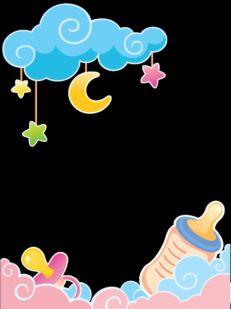 Baby Shower Clip Art Gender Neutral : shower, gender, neutral, Presentinho, Fralda, Descartável, Tamanho, Lenço, Humedecido, Kartu, Bayi,, Desain, Undangan,, Kelahiran