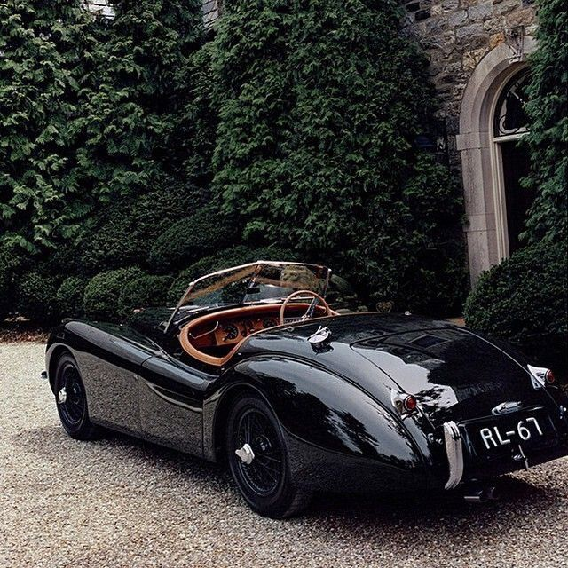 Cars Jaguar: 1950 Jaguar XK120 Maintenance/restoration Of Old/vintage
