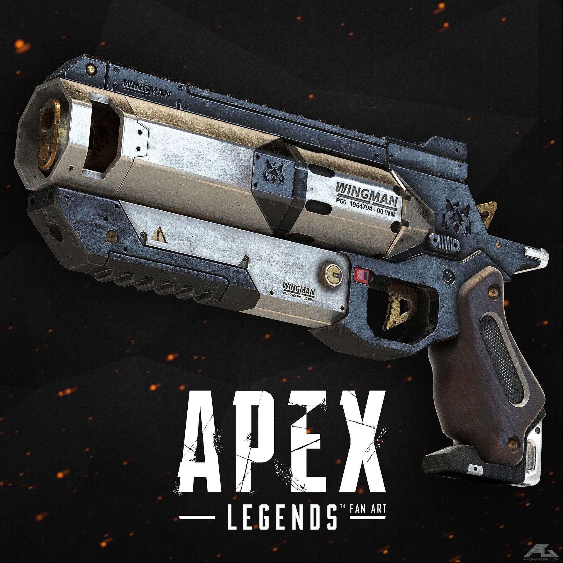 WIngman pistol gun Apex Legends