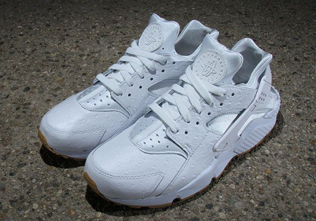 Nike Air Huarache Upgraded With Ostrich Leather and Gum Soles -  SneakerNews.com f530f65e927c