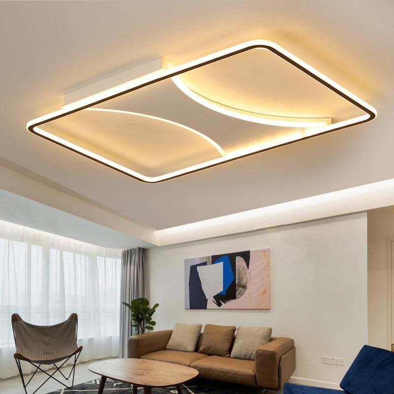Modern fashion LED ceiling Lights Dimmable with Remote in ...