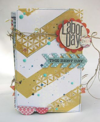 Labor Day Mini AlbumBrought to you by Paper Issues