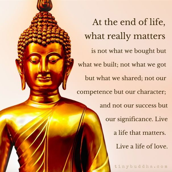 At the End of Life, What Really Matters... - Tiny Buddha