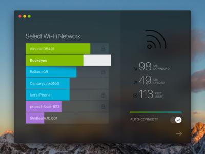 MacOS Wi-Fi Browser