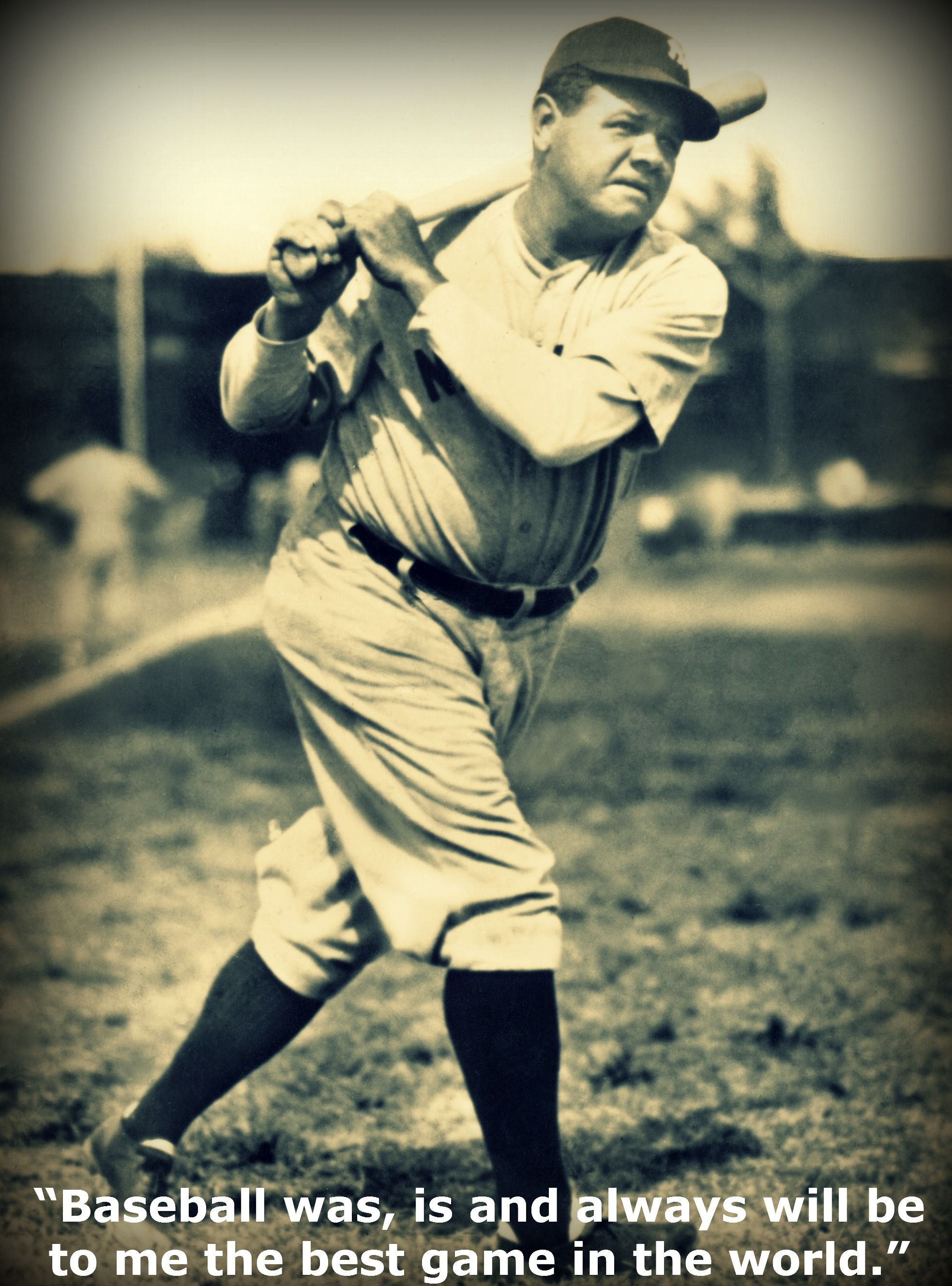 The truth Babe ruth, Baseball posters, New york yankees