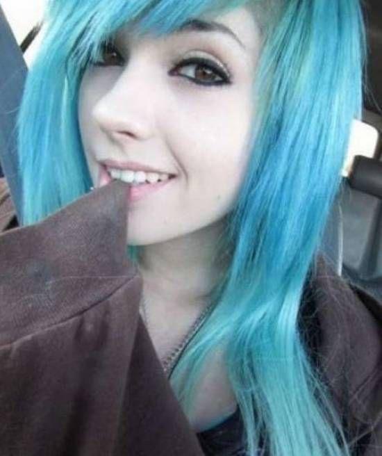 cute blue