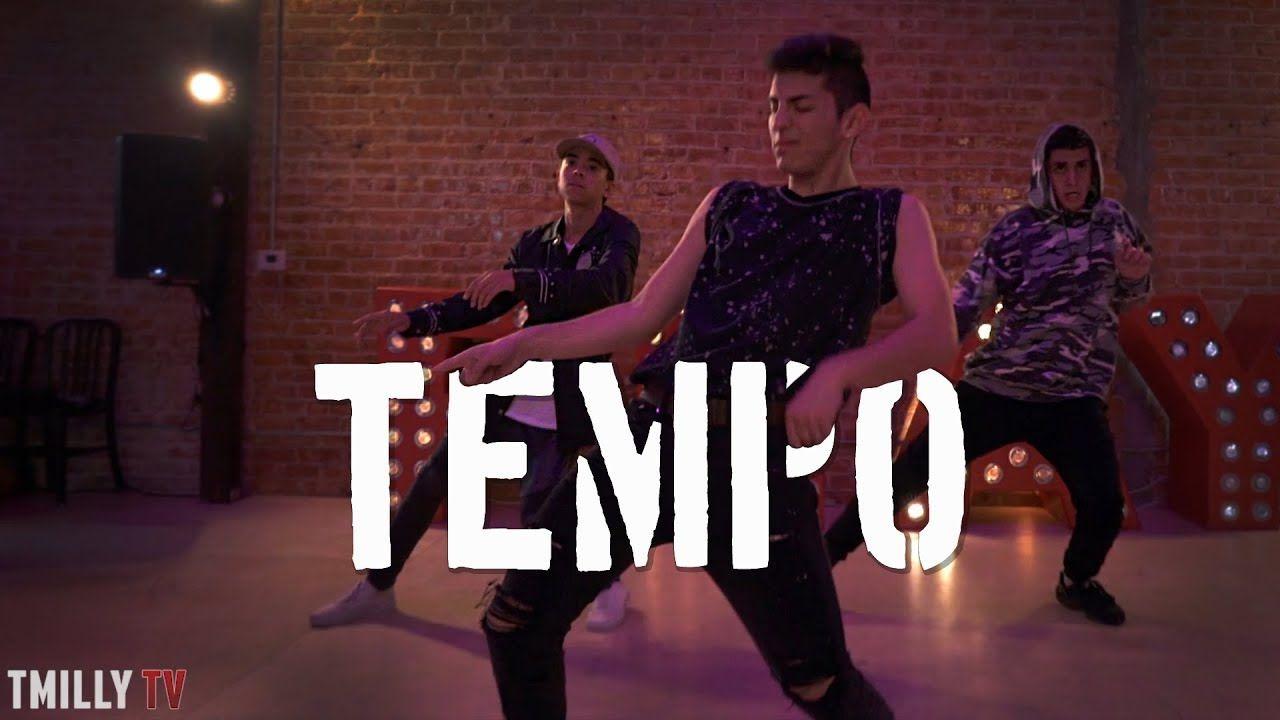 Chris brown tempo choreography by mikey dellavella