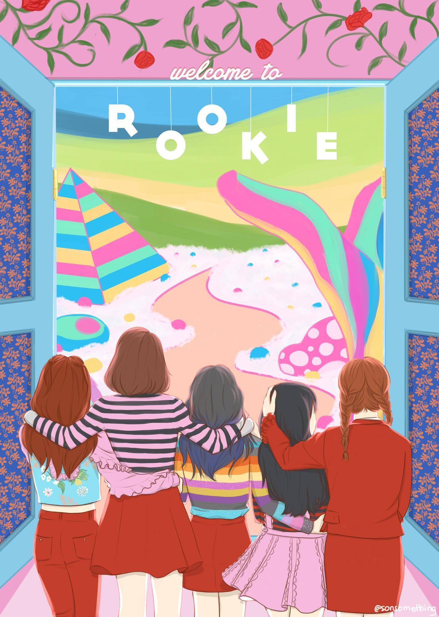 Redvelvet Rookie Rv Rookie Redvelvet Velvet Wallpaper Exo Red Velvet Red Velvet