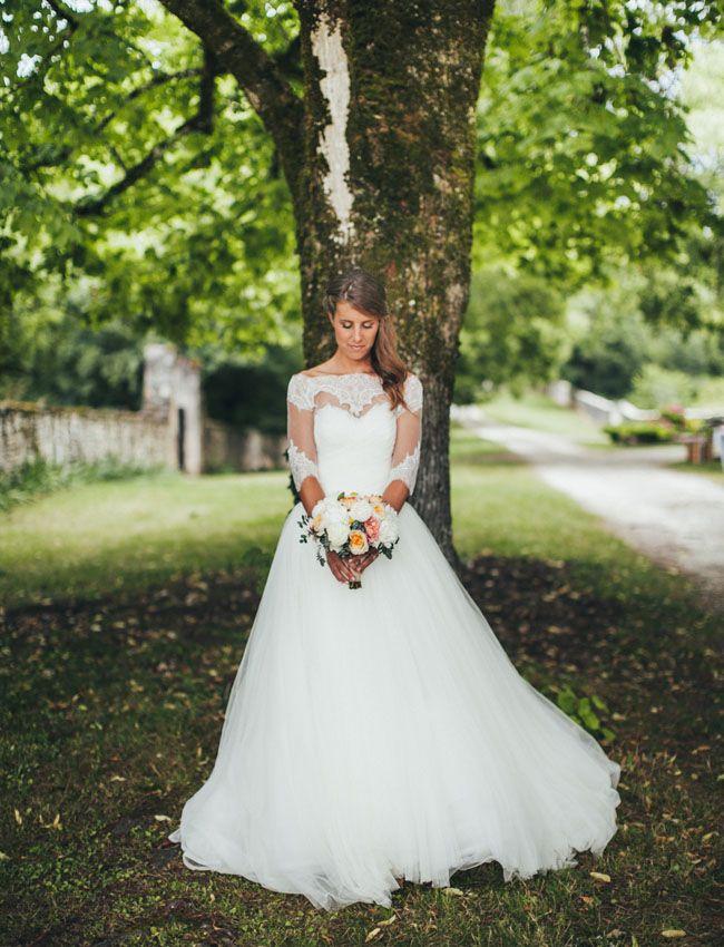 f7b6f388c7 Rustic French Countryside Wedding: Iris + Edouard | WEDDING DRESS ...