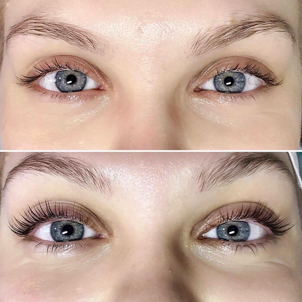 These Before-And-After 'Eyelash Lift' Photos Will Give You Serious ...