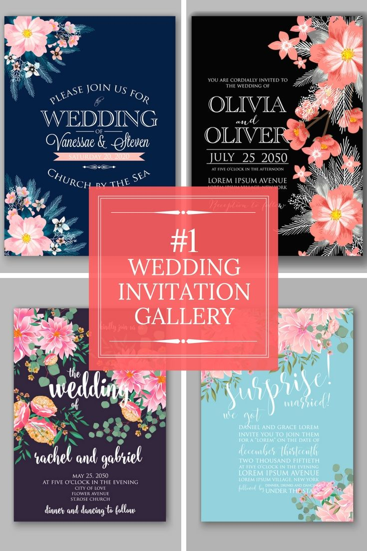 Totally Free Wedding Invitations Samples - Get Started On Preparing ...