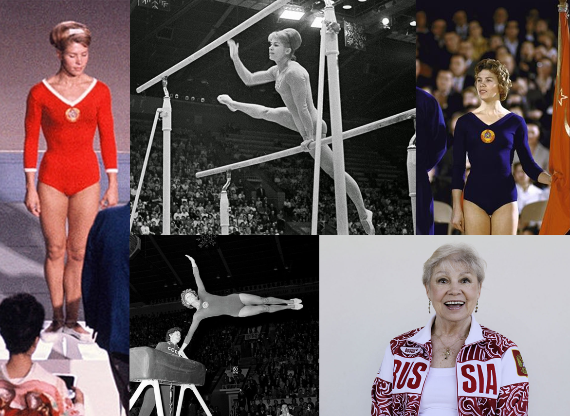 Watch Larisa Latynina 18 Olympic medals video