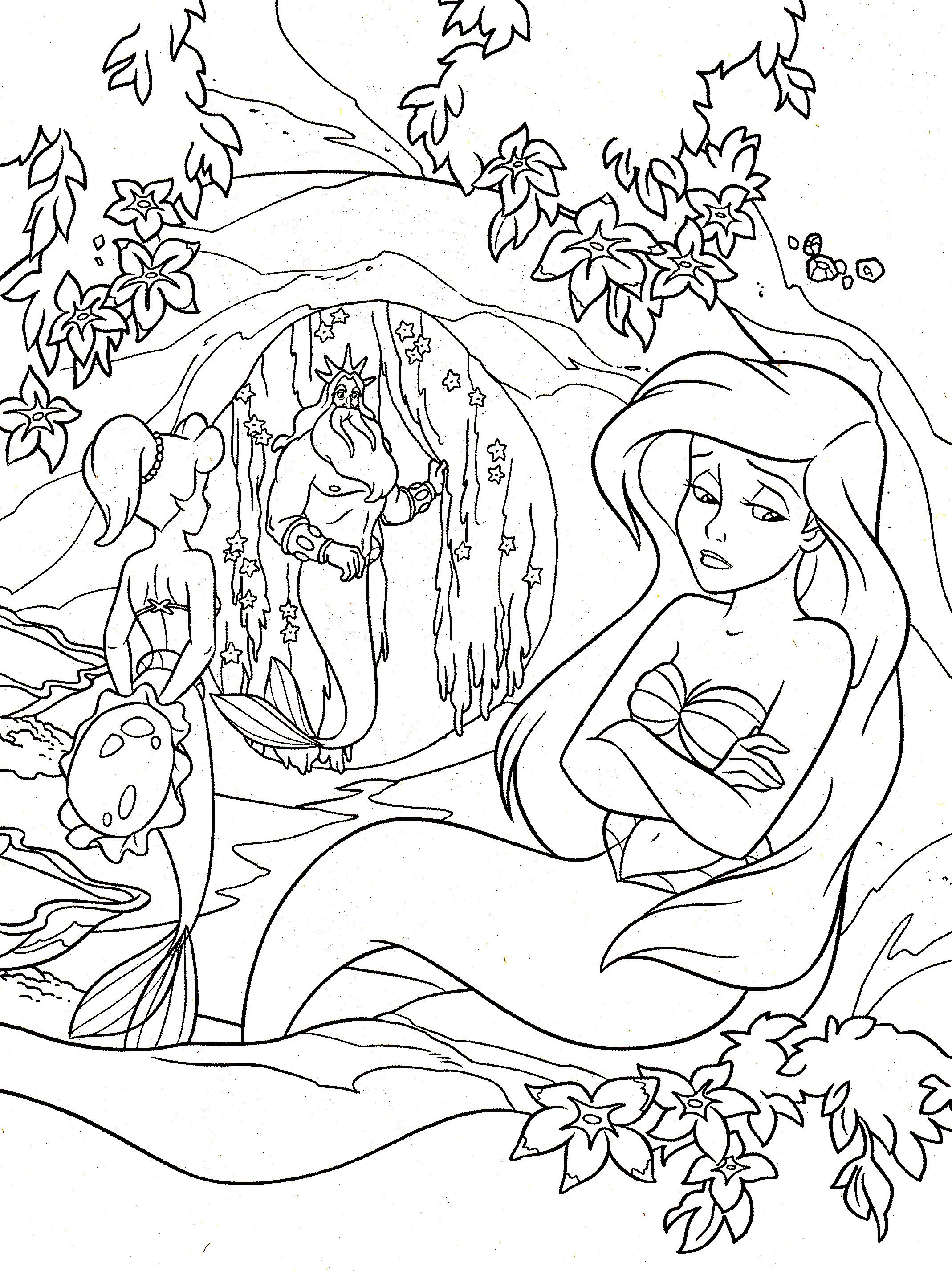 With the coloring pages that follow, we offer you a return to