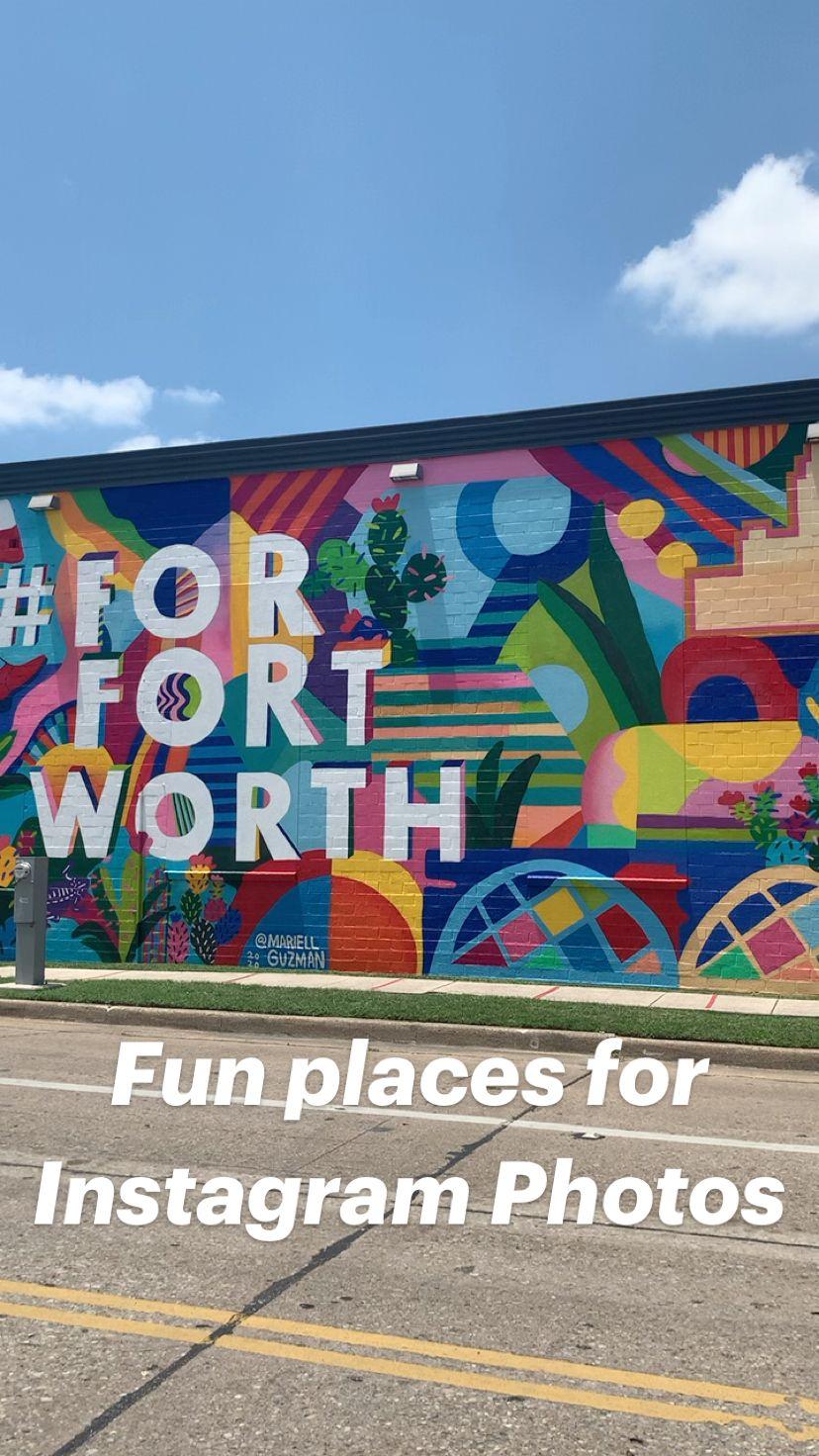 Fun places for Instagram Photos