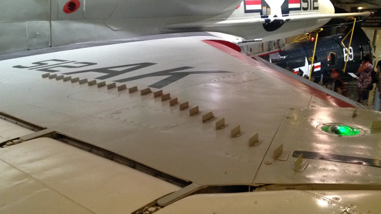 Vortex Generators: Designed to stick up out of the static