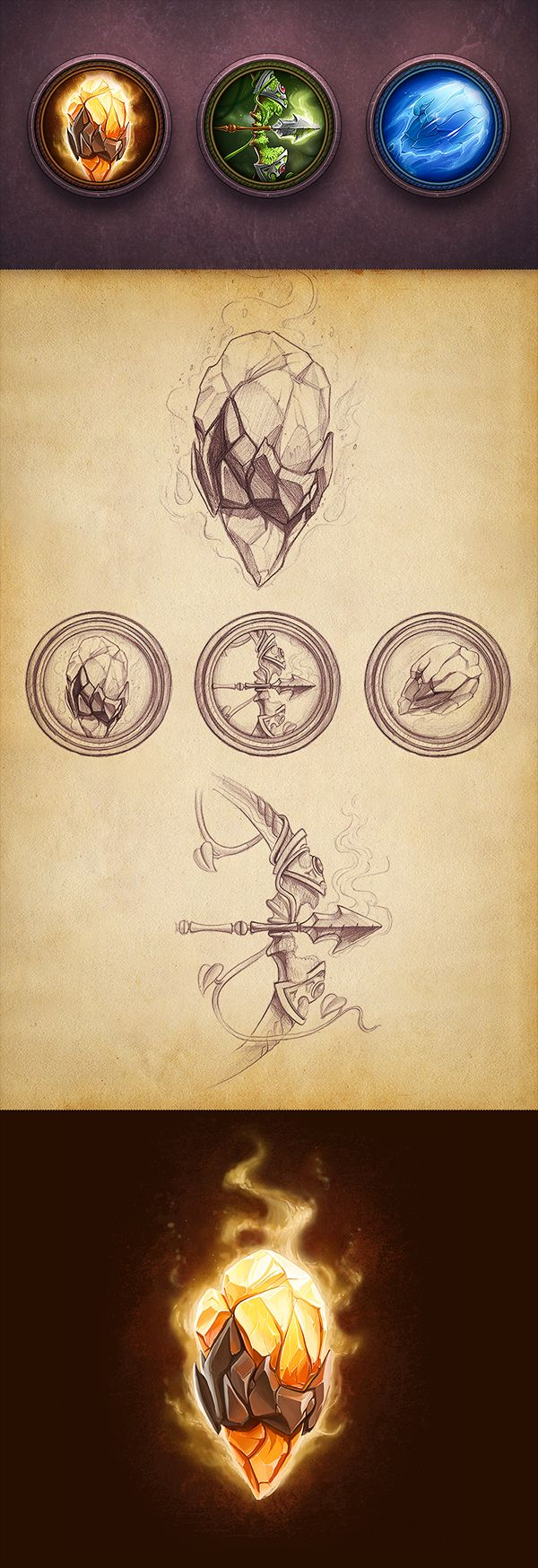 iOS game prototypes concepts on Behance by Mike in Prague http://www.creativemints.com/