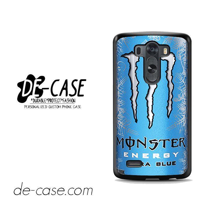 Monster Energy Drink Ultra Blue For LG G3 Case Phone Case Gift Present YO