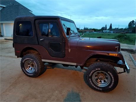 1980 Jeep Cj5 Vin Jom83ah705797 Condition Good Drive 4wd Fuel