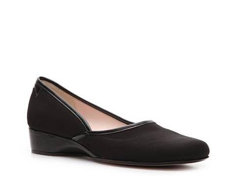921fe251c7d Taryn by Taryn Rose Karen Wedge Pump Mid   Low Heel Pumps Pumps   Heels  Women s Shoes - DSW