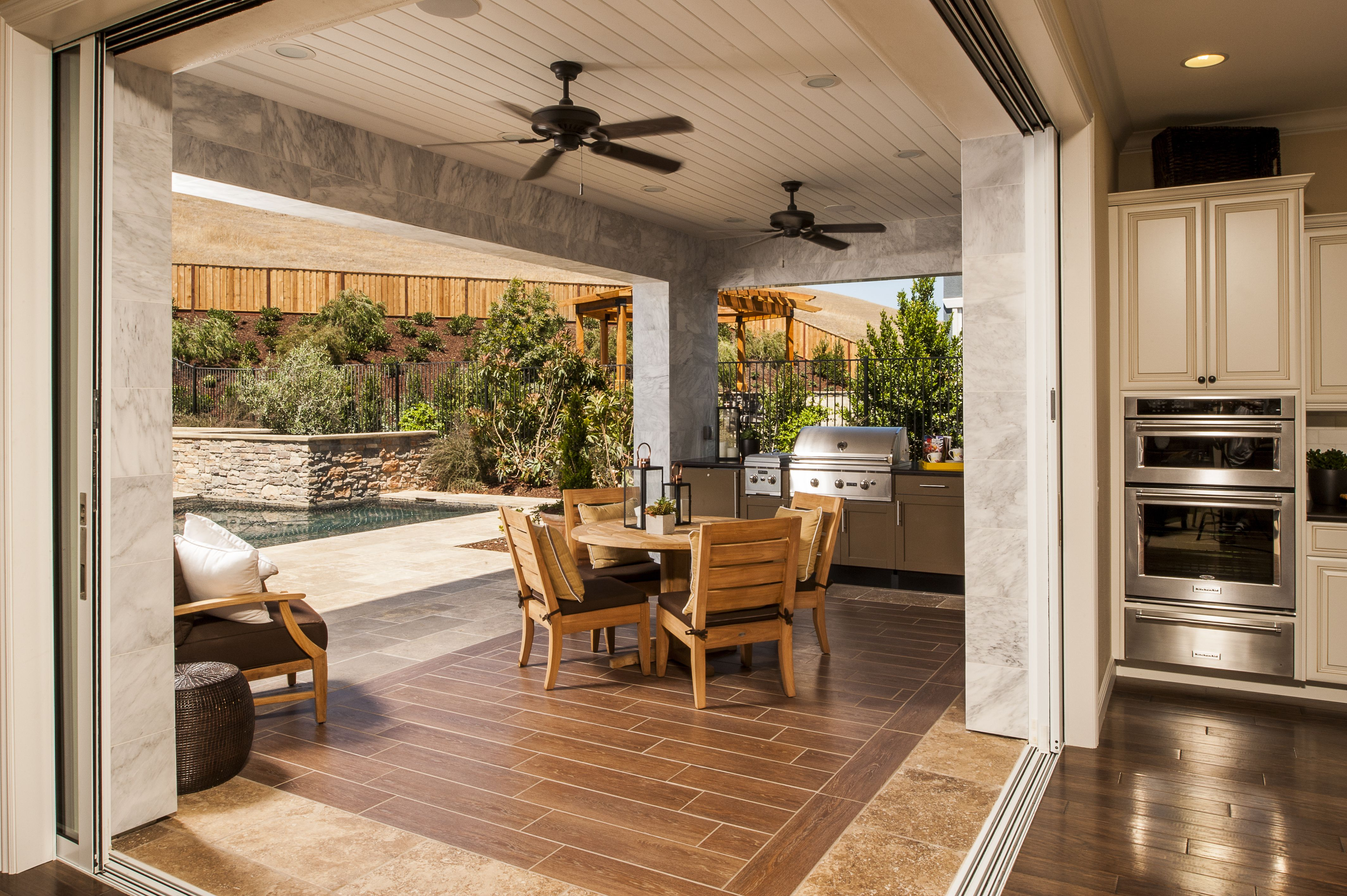 8 outdoor kitchen designs ideas plans california room outdoor kitchen design family room on outdoor kitchen and living space id=99386