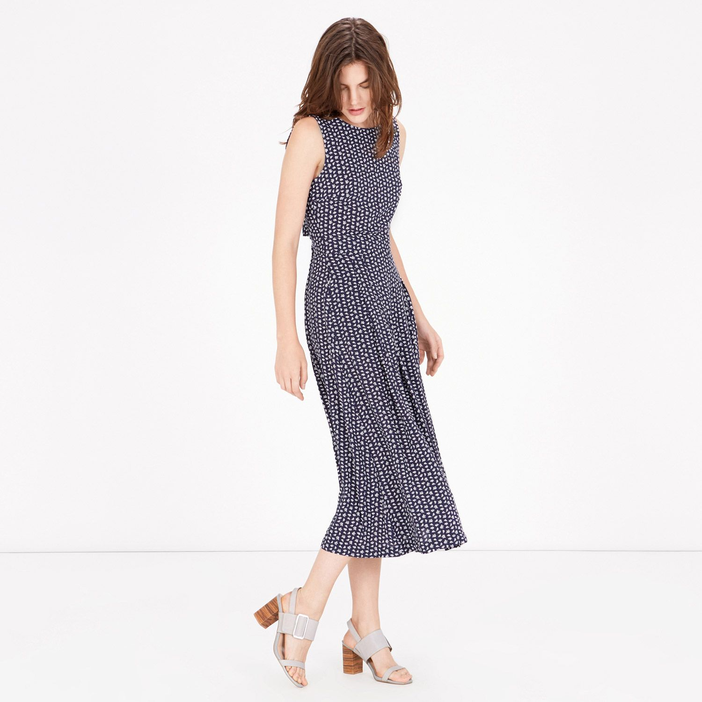 Warehouse paradise palm maxi dress
