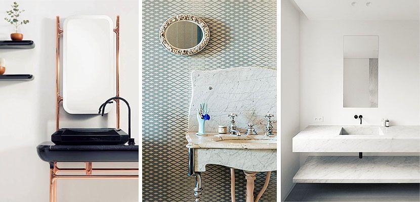 Lavabos de mármol para tu cuarto de baño | Lavabos de marmol, Lavabo ...