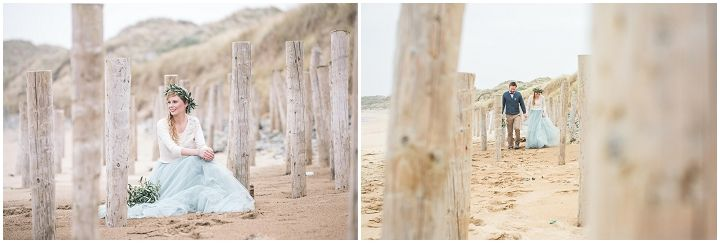 2 people 1 Life: Wedding 41 – The Chill of Blustery Ireland, A Beautiful Beach Ceremony