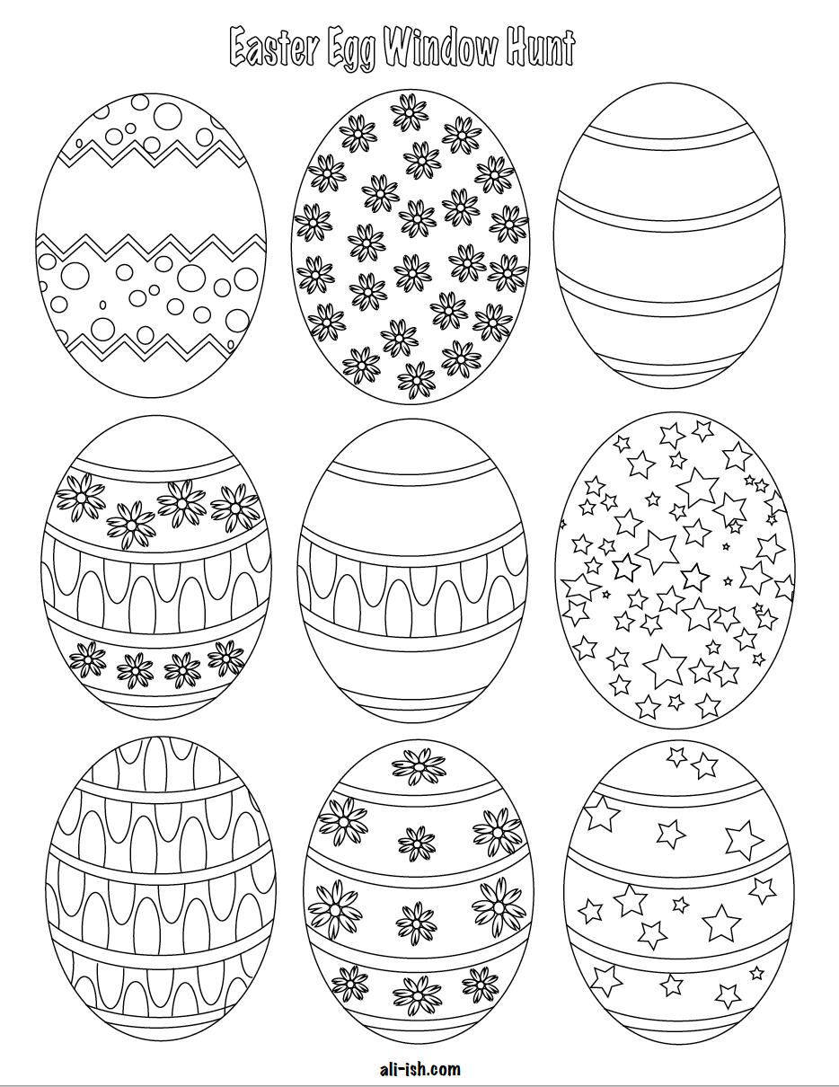 Free Printable Easter Eggs For Window Egg Hunt Come Together Apart Easter Printables Free Easter Eggs Easter Eggs Kids