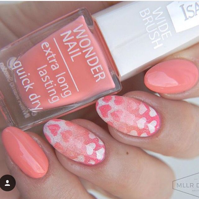 Create Lovely Nails With These Fun Heart Nail Stencils Patterns Go Every Season