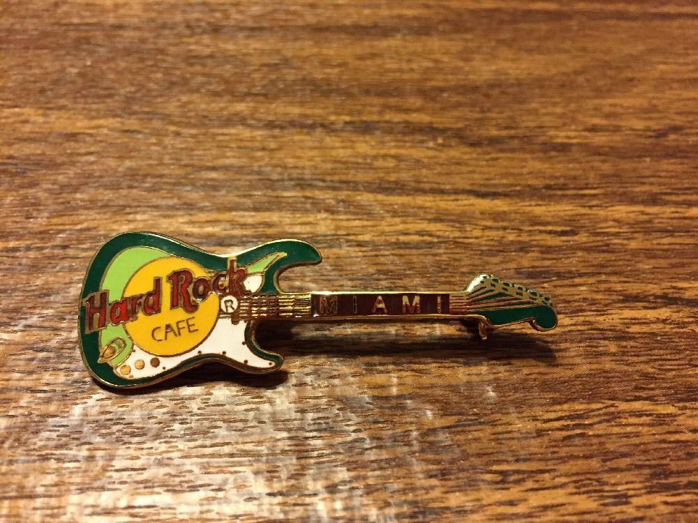 Miami Hard Rock Cafe Guitar Pin