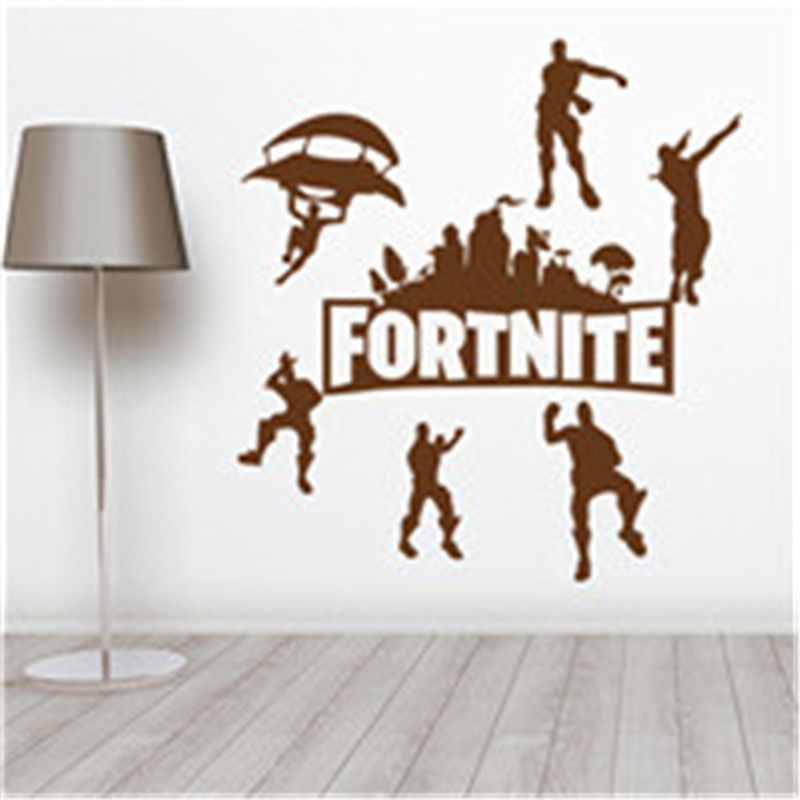 Fortnite Battle Royale Jeu Affiche Mur Sculpté Wall Decal