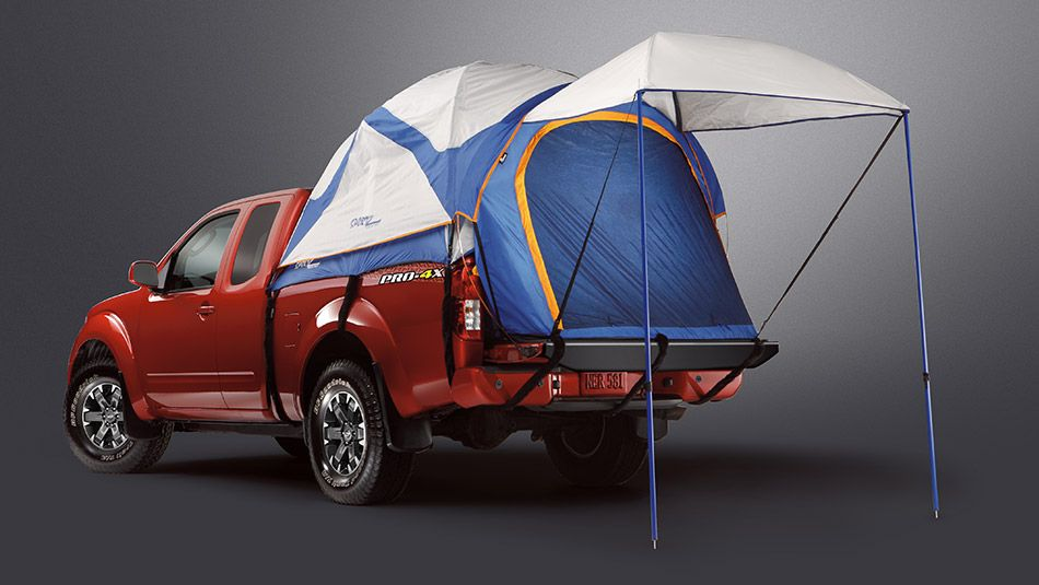2015 Nissan Frontier Pro 4x With Images Truck Bed Tent