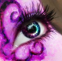 Purple Eye by Slow-Chemical-Design
