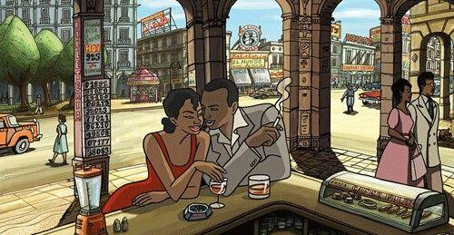 Chico & Rita en la Havana