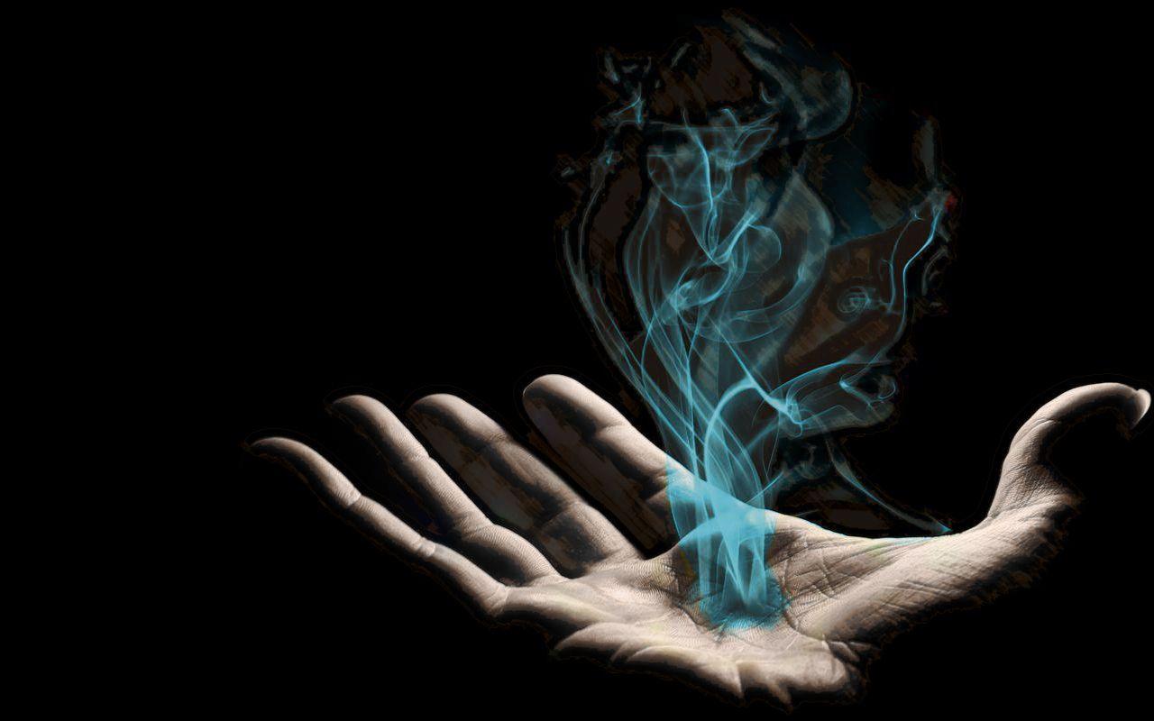 Pin By Kira Nerys On Magic Black Magic Spells Magic Hands Smoke Background
