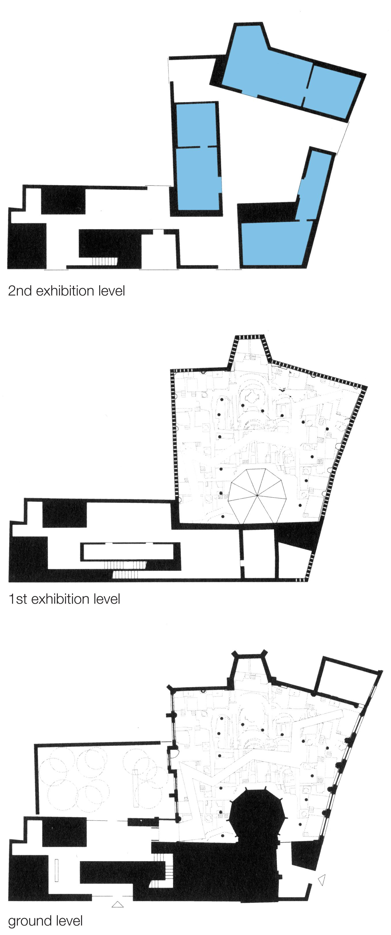 ZUMTHOR kolumba museum The space is in the plan Pinterest Art museum The ojays and Museums - Church Building Floor Plans
